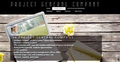 The PROJECT GENERAL COMPANY offers PMP TRAINING